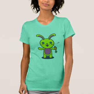 Niedliche Häschen-Kaninchen-Bonbon-Karotte T-Shirt