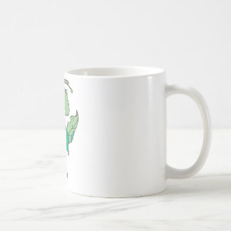 Niedliche Heuschrecke Kaffeetasse