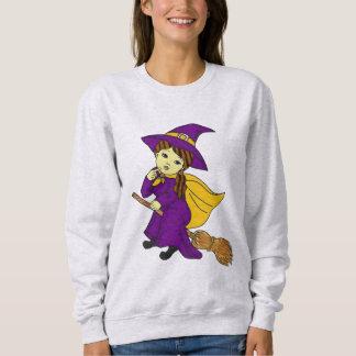 Niedliche Hexe Sweatshirt