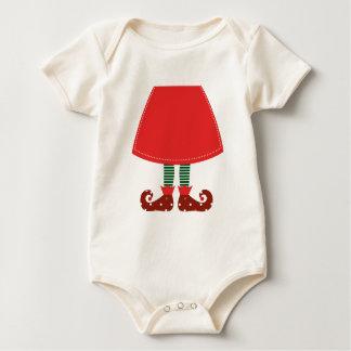 Niedliche Hexebein-Vorlage Kunst Baby Strampler