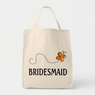 Niedliche Hochzeits-Brautjungfern-Taschen-Tasche Einkaufstasche