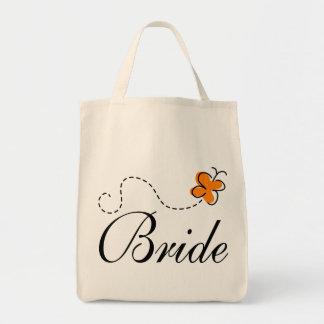 Niedliche Hochzeits-Tagesbraut-Taschen-Tasche