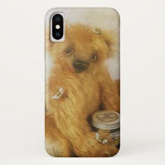 Niedliche Honig-Bärteddy-Illustration iPhone X Hülle