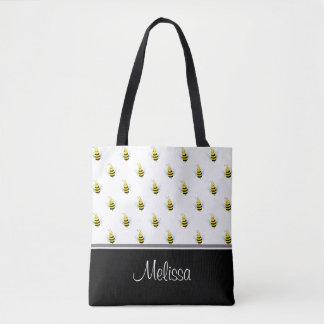 Niedliche Honigbienen | personalisiert Tasche