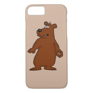 Niedliche Hüllen iPhone Entwurf des braunen Bären