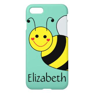 Niedliche Hummel-Biene personalisiert iPhone 8/7 Hülle