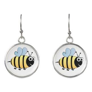 Niedliche Hummelbienen-Cartoonohrringe für Mädchen Ohrringe