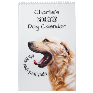 Niedliche Hunde oder IHR Fotogewohnheitskalender Wandkalender