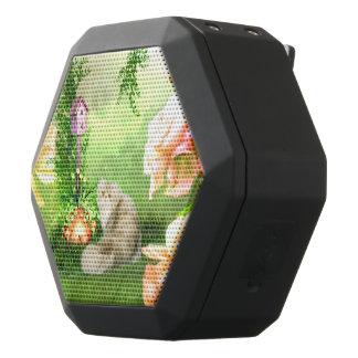 Niedliche Katze Schwarze Bluetooth Lautsprecher
