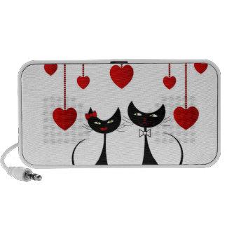 Niedliche Katzen-Paare Speaker System