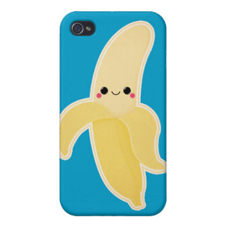Niedliche Kawaii Banane iPhone 4 Etuis