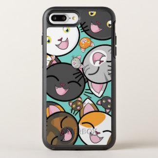 Niedliche Kawaii Katzen iPhone 7 PlusOtterbox Fall OtterBox Symmetry iPhone 7 Plus Hülle