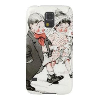 Niedliche Kinder, die den Hochzeits-März tun Samsung Galaxy S5 Hülle