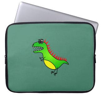 Niedliche Kinderdinosaurier-Laptop-Hülse 15 Zoll Laptop Sleeve