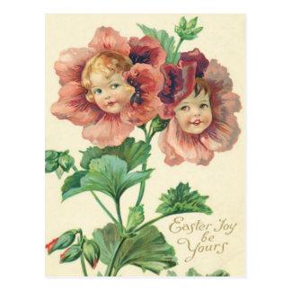 Niedliche Kinderrot-Gartennelke Postkarten