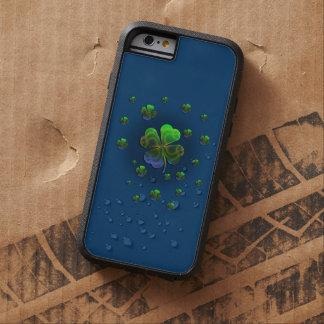 Niedliche Kleeblätter Tough Xtreme iPhone 6 Hülle
