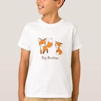 Niedliche kleine Füchse - großer Bruder T-Shirt