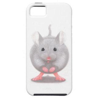 Niedliche kleine graue Maus iPhone 5 Etuis