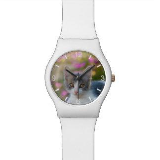 Niedliche kleine Kätzchen-Foto-Katzen-Liebhaber - Armbanduhr