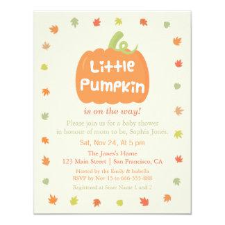 Niedliche Kleine Kürbis Baby Duschen Einladungen 10,8 X 14 Cm  Einladungskarte