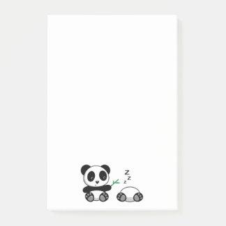 Niedliche kleine Pandas Post-it Klebezettel
