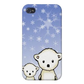 Niedliche kleine polare Bären Hülle Fürs iPhone 4