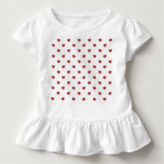 Niedliche kleine Valentine-Herzen Kleinkind T-shirt