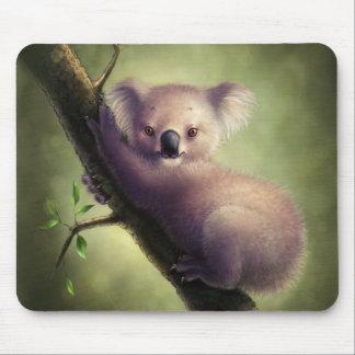 Niedliche Koala-Bärn-Mausunterlage Mauspad