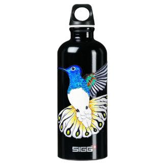 Niedliche Kolibri-Kunst Aluminiumwasserflasche