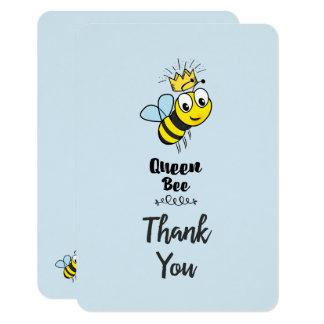 Niedliche Ku0026#246;nigin Biene Mit Krone Danken Ihnen 8,9 X