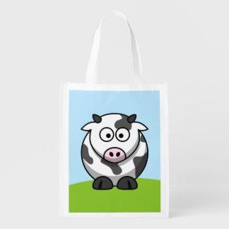 Niedliche Kuh Einkaufstasche
