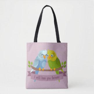 Niedliche Liebe-Vogeltaschen Tasche