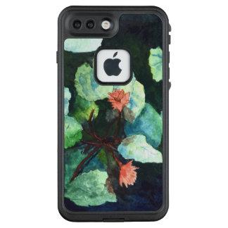 Niedliche Lilien im Wasser FRĒ® für Apple iPhone 7 LifeProof FRÄ' iPhone 8 Plus/7 Plus Hülle
