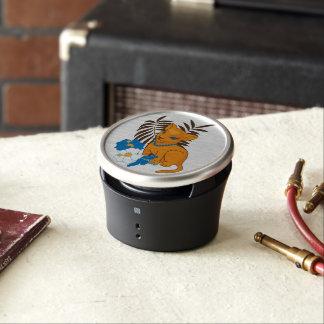 Niedliche Löwe-Baby-Cartoonillustration Bluetooth Lautsprecher