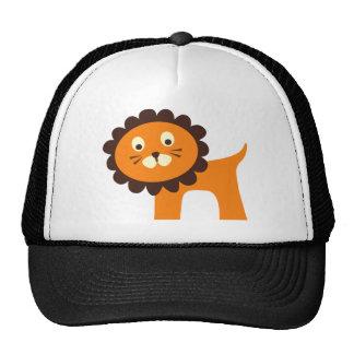 Niedliche Löwe-Dschungel-Safari-Zoo-Tier-T-Shirts Mütze