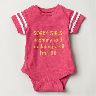 """Niedliche lustige Baby-Ausstattung """"Mommy sagte """" Baby Strampler"""
