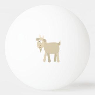 Niedliche lustige kleine Ziege Tischtennis Ball