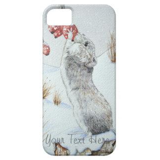 Niedliche Maus und rote Etui Fürs iPhone 5