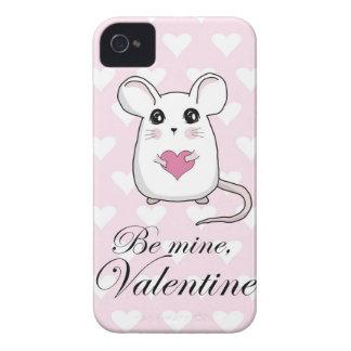 Niedliche Maus - Valentinstag Case-Mate iPhone 4 Hülle