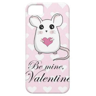 Niedliche Maus - Valentinstag iPhone 5 Etuis