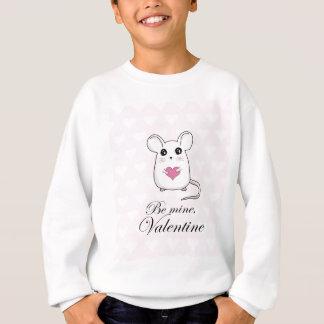 Niedliche Maus - Valentinstag Sweatshirt