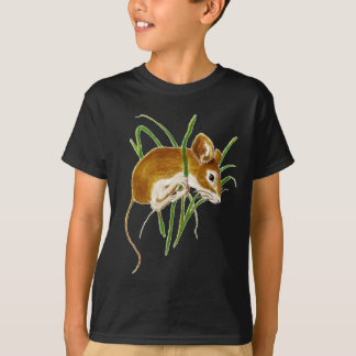 Niedliche Mäuse, Mäusewatercolor-Tiernatur Hemd