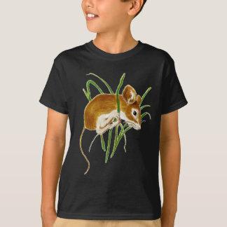 Niedliche Mäuse, Mäusewatercolor-Tiernatur T-Shirt