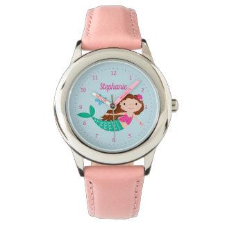 Niedliche Meerjungfrau-wunderliches Armbanduhr
