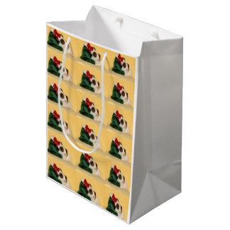 Niedliche Meerschweinchen-Geschenk-Tasche Mittlere Geschenktüte
