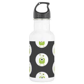 Niedliche mit Augen Monster Halloween des Grüns Trinkflasche