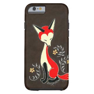 Niedliche moderne künstlerische Fox-Malerei Tough iPhone 6 Hülle