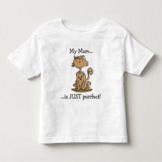 Niedliche Mutter-Katze Tshirt