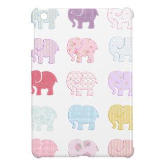 Niedliche nette bunte Elefanten iPad Mini Hülle