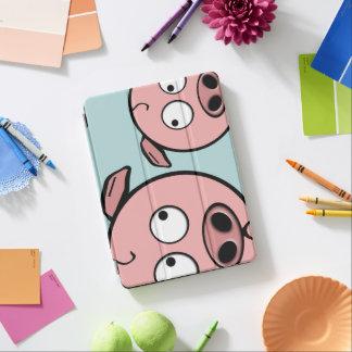 Niedliche neugierige Schweine iPad Air Hülle